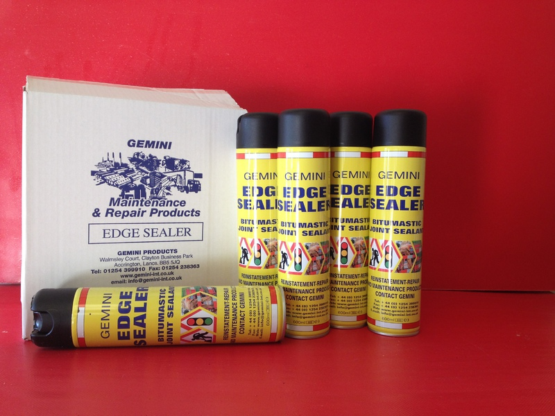 spray cans cold joint edge sealer 20ltr 15ltr available spray can. Black Bedroom Furniture Sets. Home Design Ideas